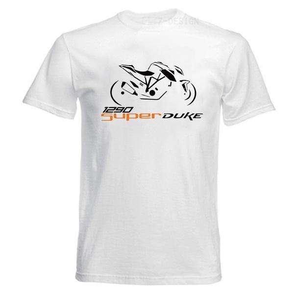0924c4dce3aa Großhandel LEFEDA KTM Super Duke 1290 Superduke Motorrad Moto Grafik T Shirt  Casual T Shirt, Weiß S XXXL Von Affairr,  33.51 Auf De.Dhgate.Com   Dhgate
