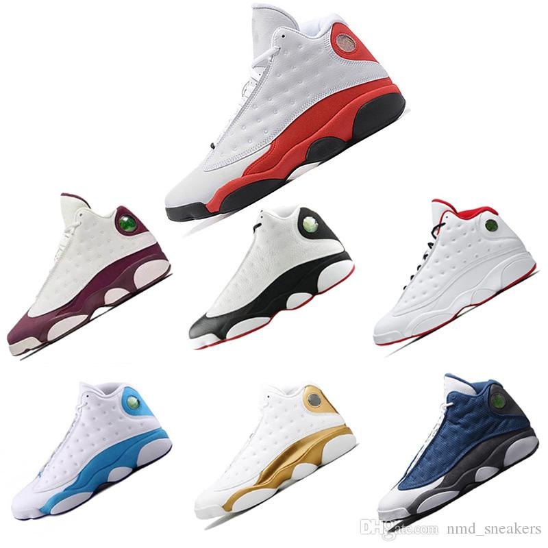 ad2bf0e71d6d0 Compre Nike Air Jordan Retro 13 13s Zapatillas De Baloncesto Sneakers  Zapatos De Hombre XIII 13 Royal Blue Captain Dinero Puro Hombre Deportes  Basketball ...