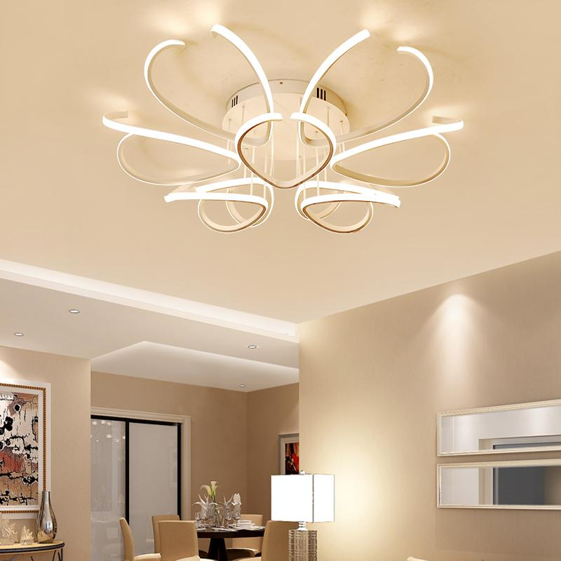 Großhandel LED Deckenleuchten Einfache Moderne Wohnzimmer Lampe ...