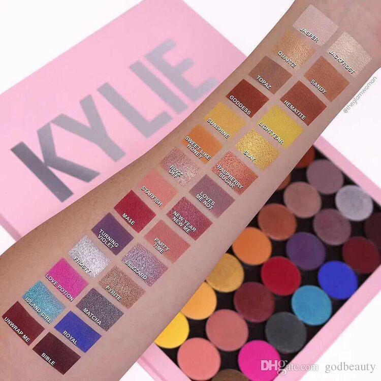 Acheter Nouveaux Palettes De Maquillage Kylie Cosmetics Magnetic Kylie  Empty Large Pro Palette 28 Couleurs Kylie Jenner Palette De Fard À  Paupières Palette