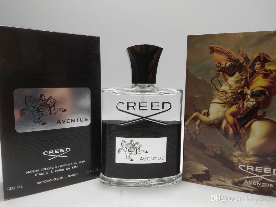 2018, célèbre parfum, credo aventus / GREEN IRISH TWEED / Parfums pour hommes, eau de Cologne et ruban Creed