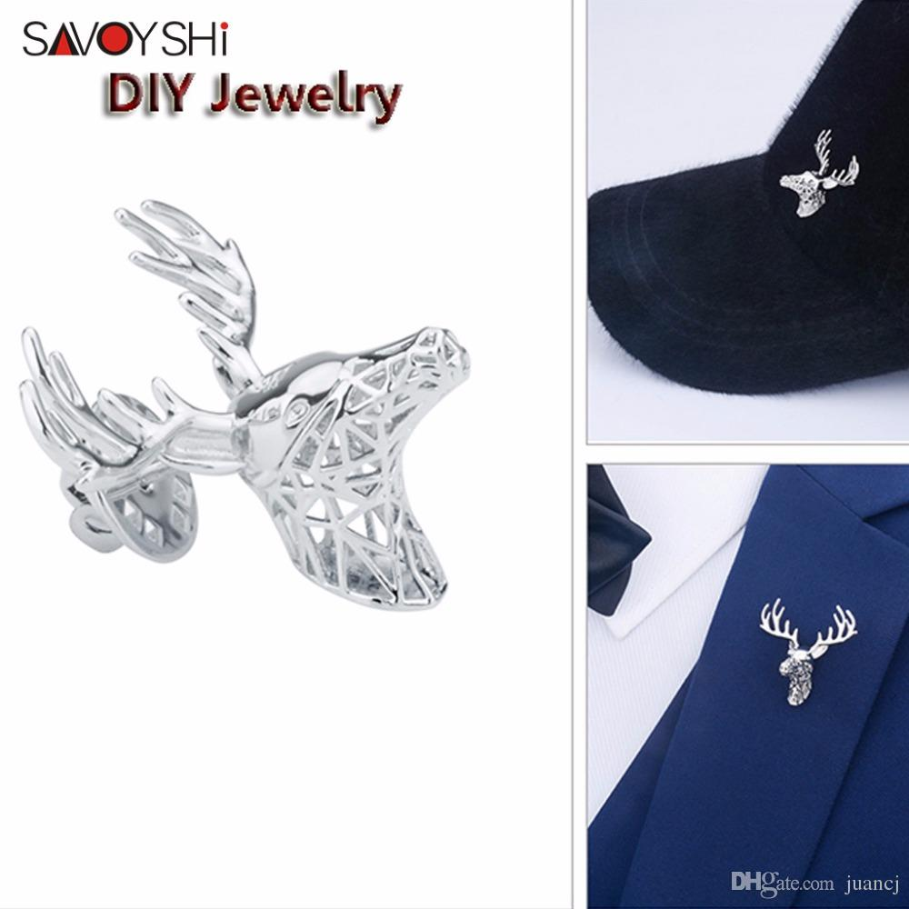SAVOYSHI Luxury Zircon Scorpion Men Lapel Pin Brooches Pins Fine Gift for Mens Brooches Collar Party Engagement Brand Jewelry