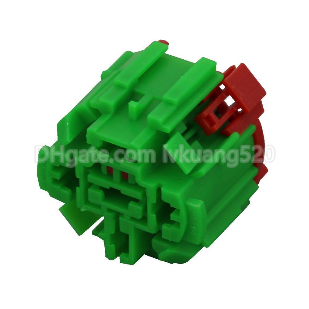 5 Pin 45501E225 Connector Green Automotive Connectors DJ7051F-6.3-21