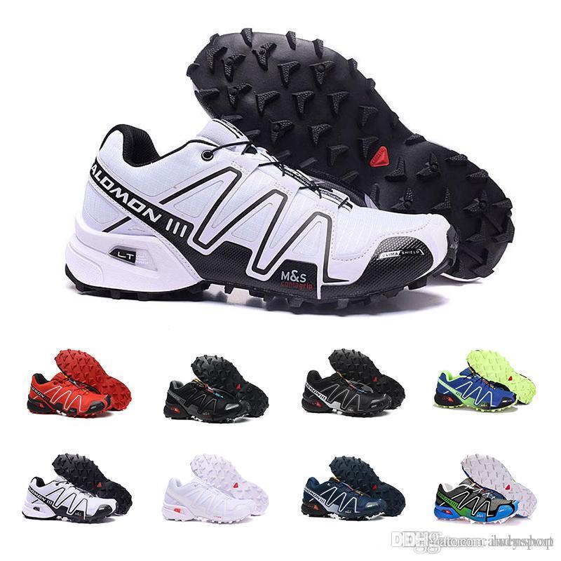 buy popular e8455 77099 Compre Adidas Originals Speed cross IV Speedcross 4 4s Trail Runner Dark  Red Men Zapatos Para Correr Zapatos Deportivos Zapatillas De Deporte De  Moda ...