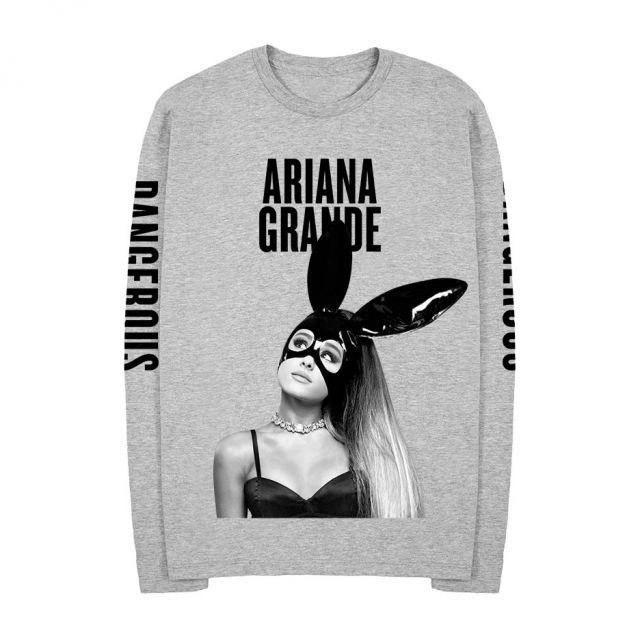 6dd9faca Exclusive Ariana Grande Bunny Heather T Shirt Women Man Couple Woman Long  Sleeve Plus Size Shirts Casual Ladies Shirt T Shirts Sale Novelty Shirts  From Bida ...