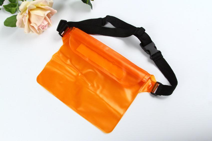 Drifting swimming waterproof bag Functional outdoor pvc Three-layer sealed waterproof smart phone purse For Swimming Drifting Bag LJJG13