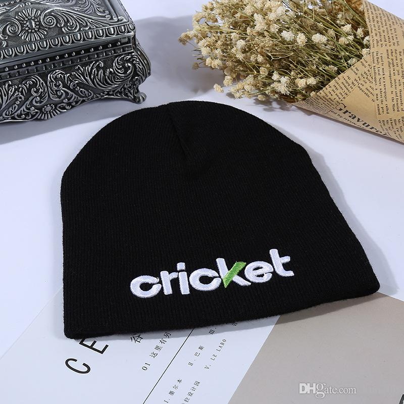 New Custom Knitted Beanie Fashion Embroidery Hat Good Promotional Products  Solid Winter Warm Caps Wholesale Free Shipping 1a3b2c47fb2b