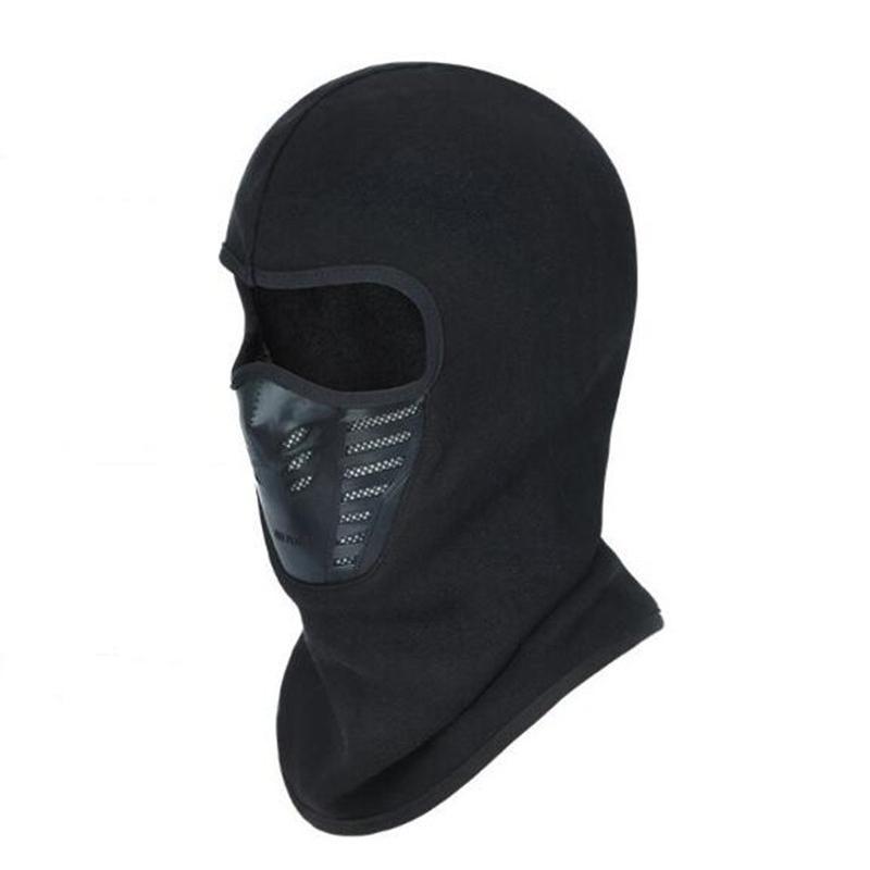 2126db77b85 2019 Windproof Cycling Face Mask Winter Warmer Fleece Balaclavas Bike Sport  Scarf Mask Bicycle Snowboard Ski From Ranshu