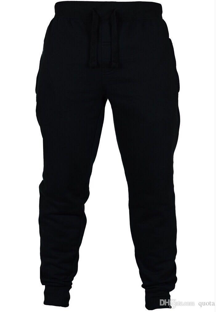 Hommes Sport Casual Jogger Pantalons Pantalon Homme Longueur Complète Crayon Pantalon Velours Élastique Taille Lâche Pantalon Avec Poche