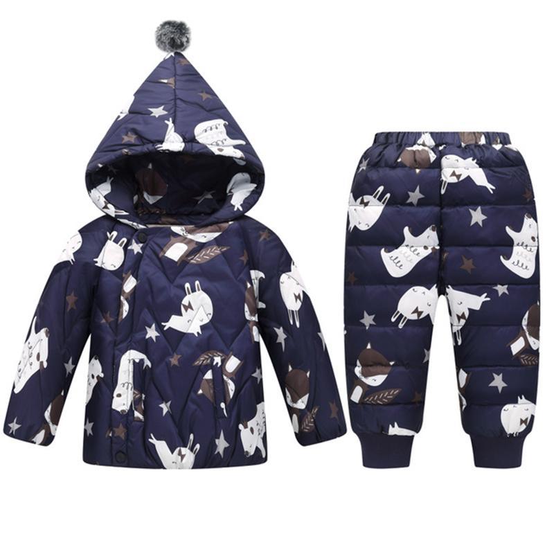 ecd52632f 30 Russian Winter Snowsuit 2018 Boy Baby Jacket 80% Duck Down ...