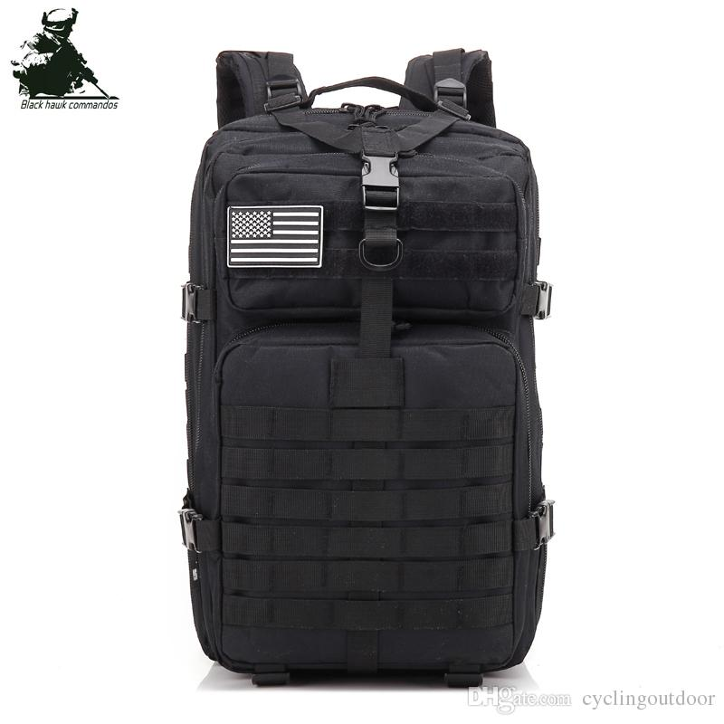 01965b8c727d 2019 Wholesale Sales NEW 3P Tactical Backpack Archery Bag Knapsack Women  Assault Cordura Bag Packsack Man Backpacks Hiking Traveling Running From ...