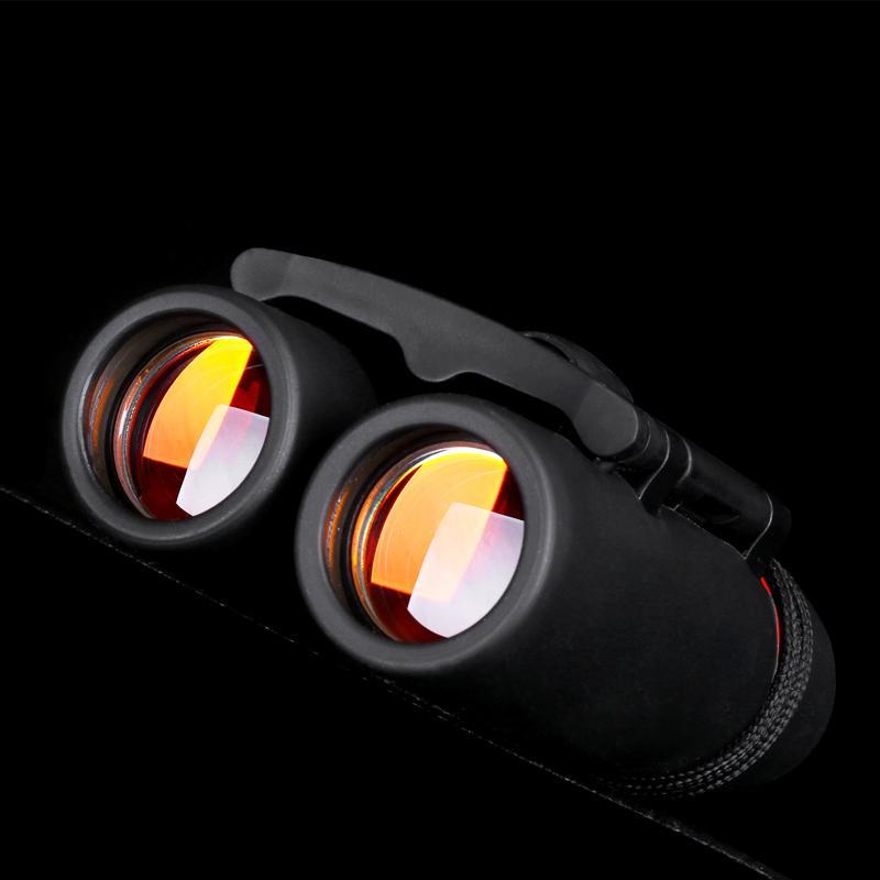 Mini-Fernglas faltbar mit Nachtsichtfernglas Zoom Optisches Len-Teleskop zur Vogelbeobachtung beim Reisen mit Camping