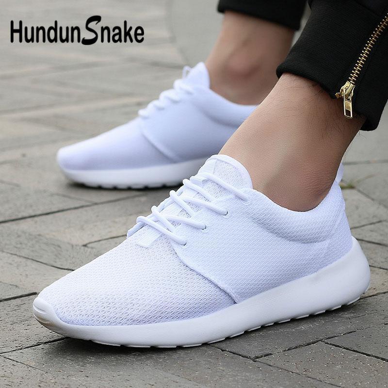 1a6690bdc66 Hundunsnake White Sneakers Men Mesh Men s Running Shoes Women Summer Basket  Homme Lightweight Krassovki Breathable Athletic G-30