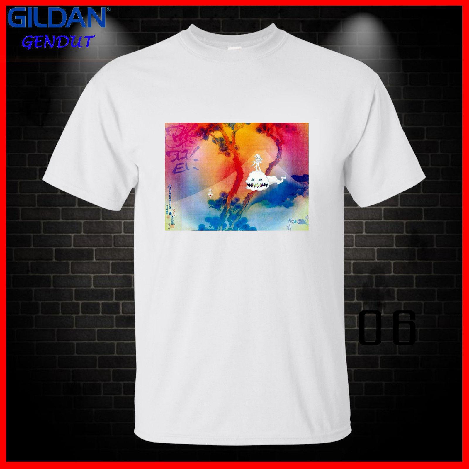 Rager men T Shirt Tee Gildan Cudi Albums Kid Cudi Man on the Moon Indicud Mr