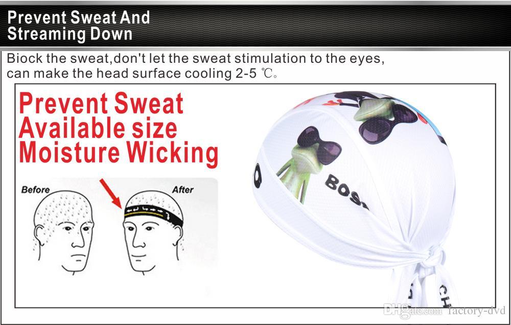 Hello Outdoor Sport Bike Bicycle Bandana Hat Breathable Sweat Cycling Helmet Cap Skull Pirate Head Scarf Headband Headwear