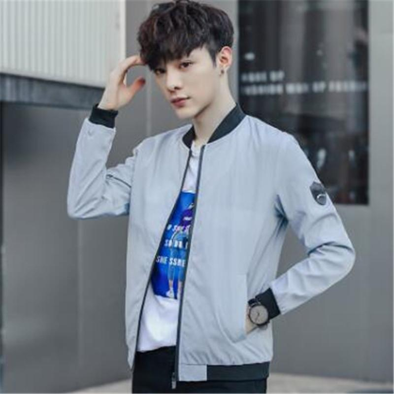 695b531a8b97bd Brand Men Spring Jackets And Coats Male Casual Fashion Slim Fitted Zipper  Jackets Men Clothing Size 2XL XZ09 Nice Coats For Men Leather Coats Women  From ...