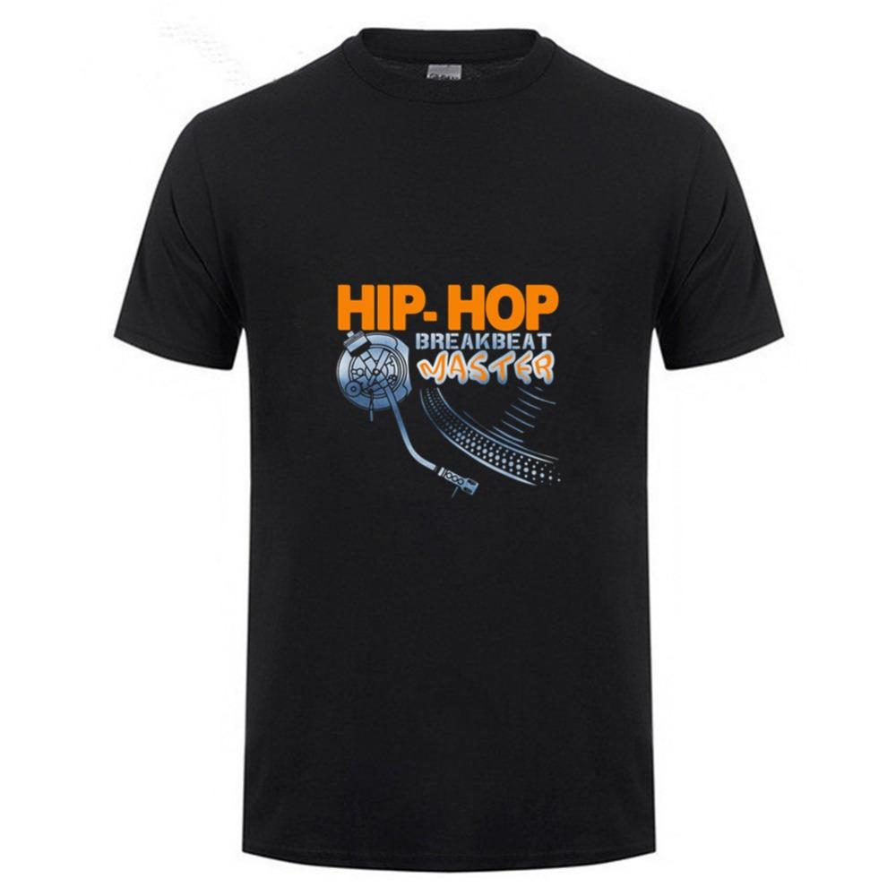 Promotion Tees Pre-Cotton Men Technics hip top Of Music Short Sleeve Shirts  High Quality Men s T Shirt Slogans tees