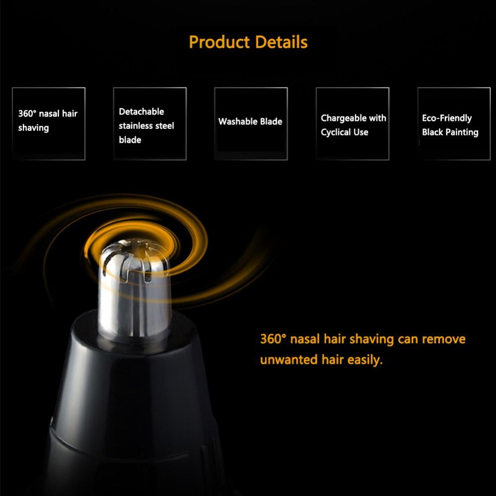4 In 1 Men`s Electric Hair Trimmer Nose Ear Beard Eyebrow Sideburn Trimmer Clipper Shaver Razor Shaving Machine dhl