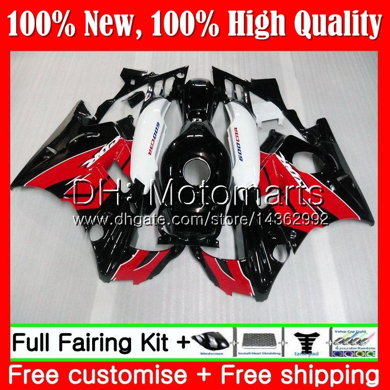 Body For HONDA Red black CBR 600F2 FS CBR600 F2 91 92 93 94 46MT3 CBR600FS CBR 600 F2 CBR600F2 1991 1992 1993 1994 Red Fairing Bodywork
