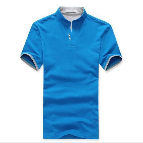 Wholesale Cheap China Clothes Mens Polo Shirt Solid Custom Logo