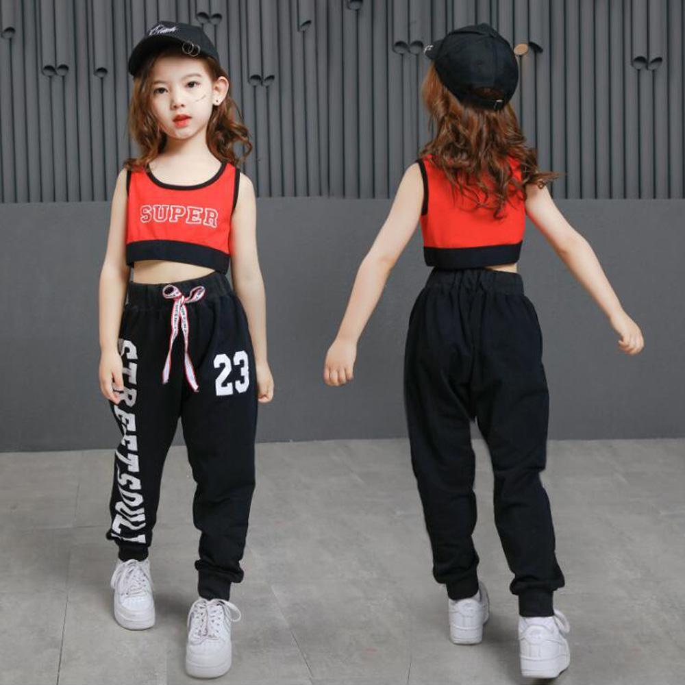 Compre Kids Hip Hop Ropa De Fiesta Trajes De Baile Trajes Niñas Recortadas Sudadera  Camisa Pantalones Jazz Salón De Baile Calle Danza Ropa De Calle A  23.31 ... e068a2f5cf6