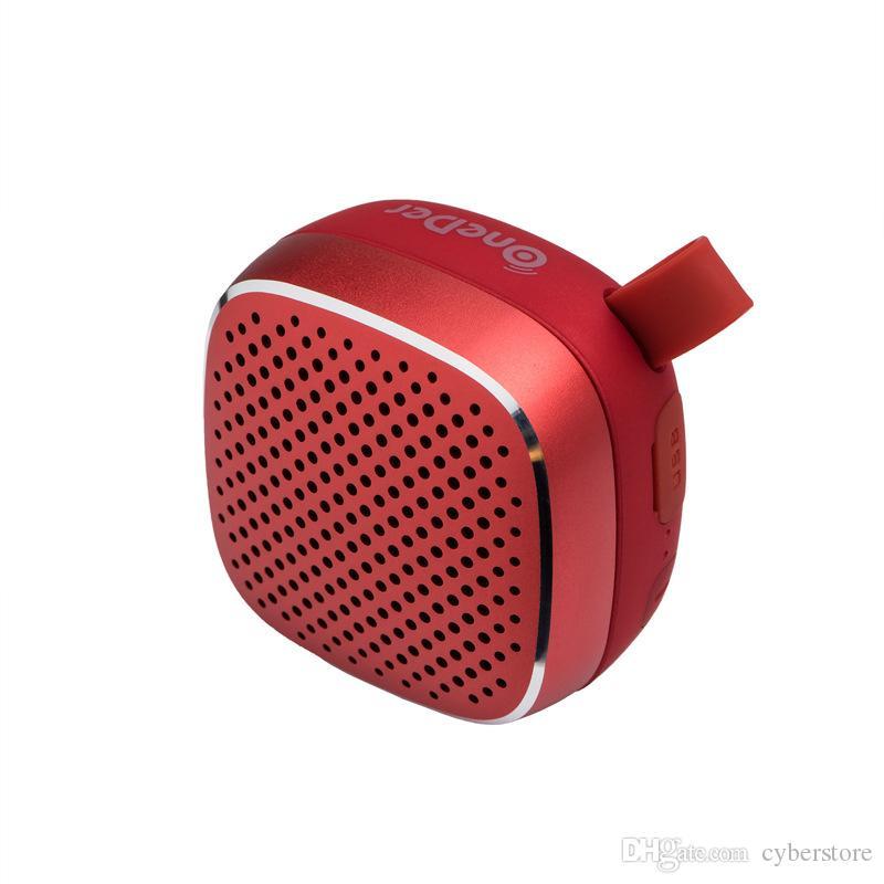 Mini Speaker Portátil Bluetooth V4.2 sem fio alto-falantes estéreo som de alta qualidade Suporte TF Aux Com pacote de varejo