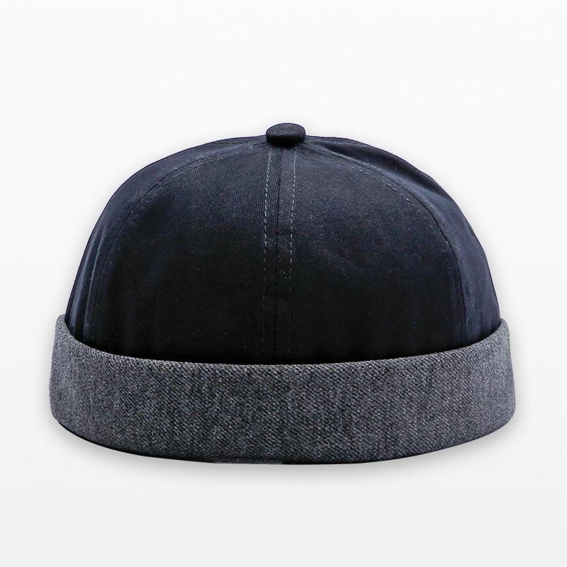 5d82eee2fc974 2019 Fashion Miki Caps Men Fisherman Beanies Cotton Round Hat Autumn Spring  Winter Turn Up Retro Sailorcap Brimless Women Caps From Rainlnday