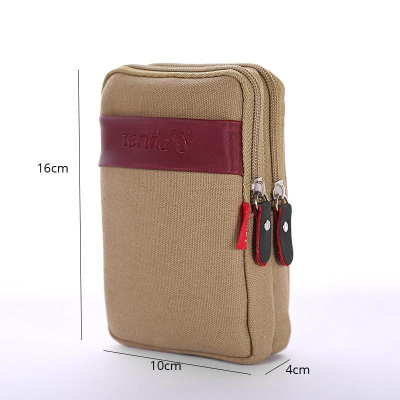 Hot outside Waist Bags Men's Casual Waist Pack Purse Mobile Phone Case for Phone Men's Wallet
