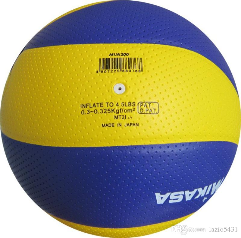 MIKASA MVA200 volleyball Professional كرة الطائرة في الأماكن المغلقة دورة الالعاب الاولمبية مباراة تدريب كرة الطائرة حجم 5 للطلاب