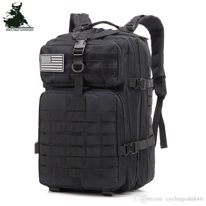 d8b741f698cd Tactical Backpack Large Capacity Multi Space Outdoor Sport 3P ...