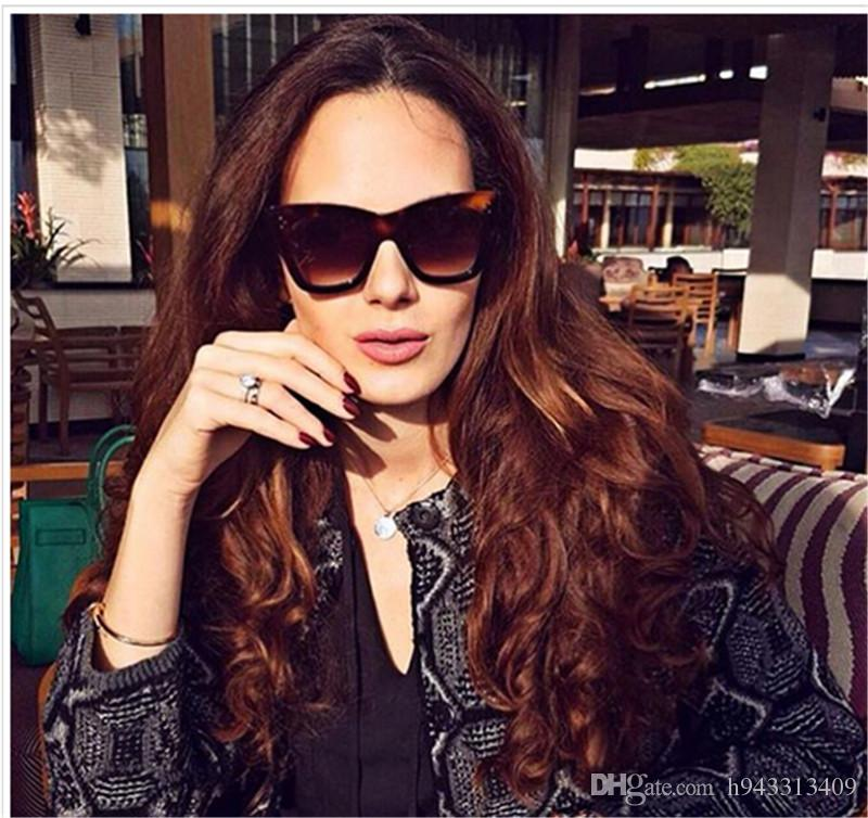 c7476ba85b76 2018 Women 41090 Catherine Style Cat Eye Sunglasses Vintage Three Dots  Brand Design Gradient Sun Glasses Oculos De Sol 180206 Eyeglasses Sunglasses  Hut From ...
