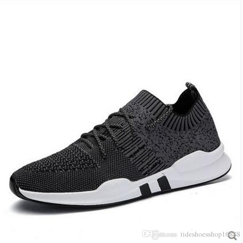 Acquista 2018 Scarpe Casual Da Uomo Sneakers Da Uomo Summer Tenis Sneakers  Maglia Traspirante Chaussure Adulto Chaussure Homme Scarpe Da Uomo  Zapatillas A ... d3aab95e923