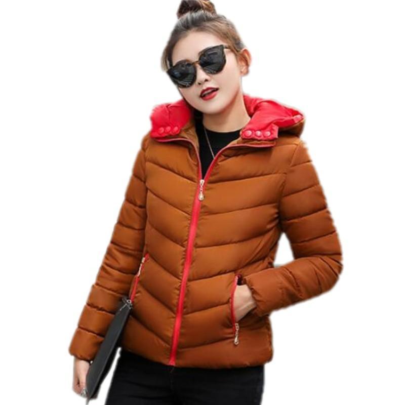 7f5798ebe YAMARKET S-XXXL Short Parka Cotton Down Jacket Women Winter Jackets ...