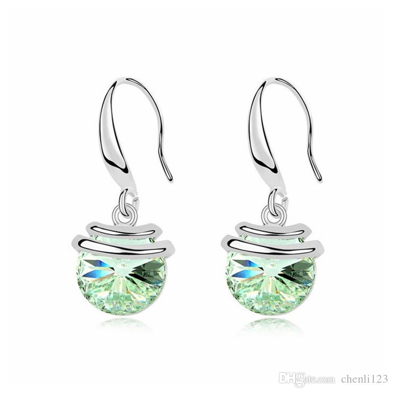 ee8248d1d 2019 Earing 2018 Promotion Pendientes Brincos Grandes For Women Sensation  Pierced Earrings Crystals From SWAROVSKI From Chenli123, $6.54 | DHgate.Com