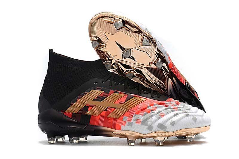 ce40f01016be Original Top Quality Football Boots Predator 18+/18.1 FG Soccer Shoes  PREDATOR ACCELERATOR Men Soccer Cleats Sneakers