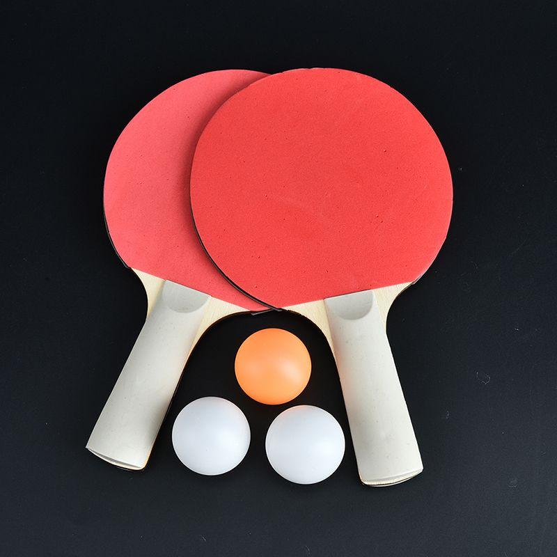 1533ec36efa7e Compre Top Recomendado 1 Par De Tenis De Mesa Doble Raqueta De Pingpong  Bebé Deportes Niños Niños Juguete Deportivo A  28.86 Del Baibuju