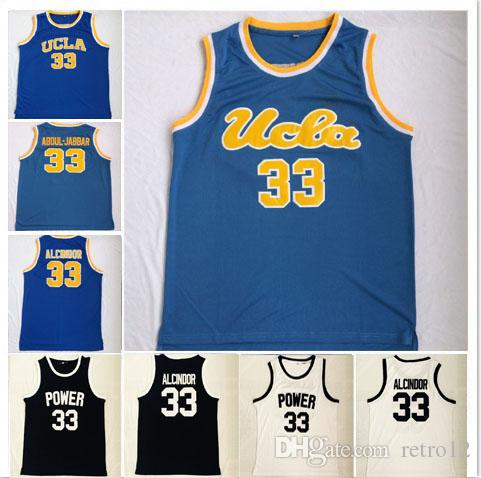 fcad2ace404 ... clearance 2018 ncaa basketball ucla bruins mens 33 kareem abdul jabbar  jersey embroidery 33 lew alcindor