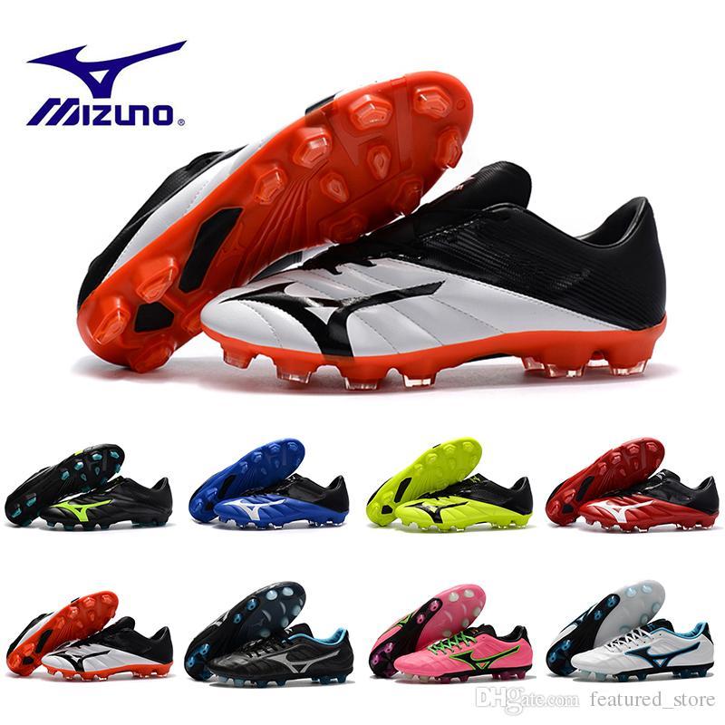 buy popular 062da bf2c3 Compre Venta Al Por Mayor Nuevo Mizuno Rebula V1 Para Hombre Botas De Fútbol  Zapatos De Fútbol Botines BASARA AS WID Caliente Depredador Deportes Futsal  ...