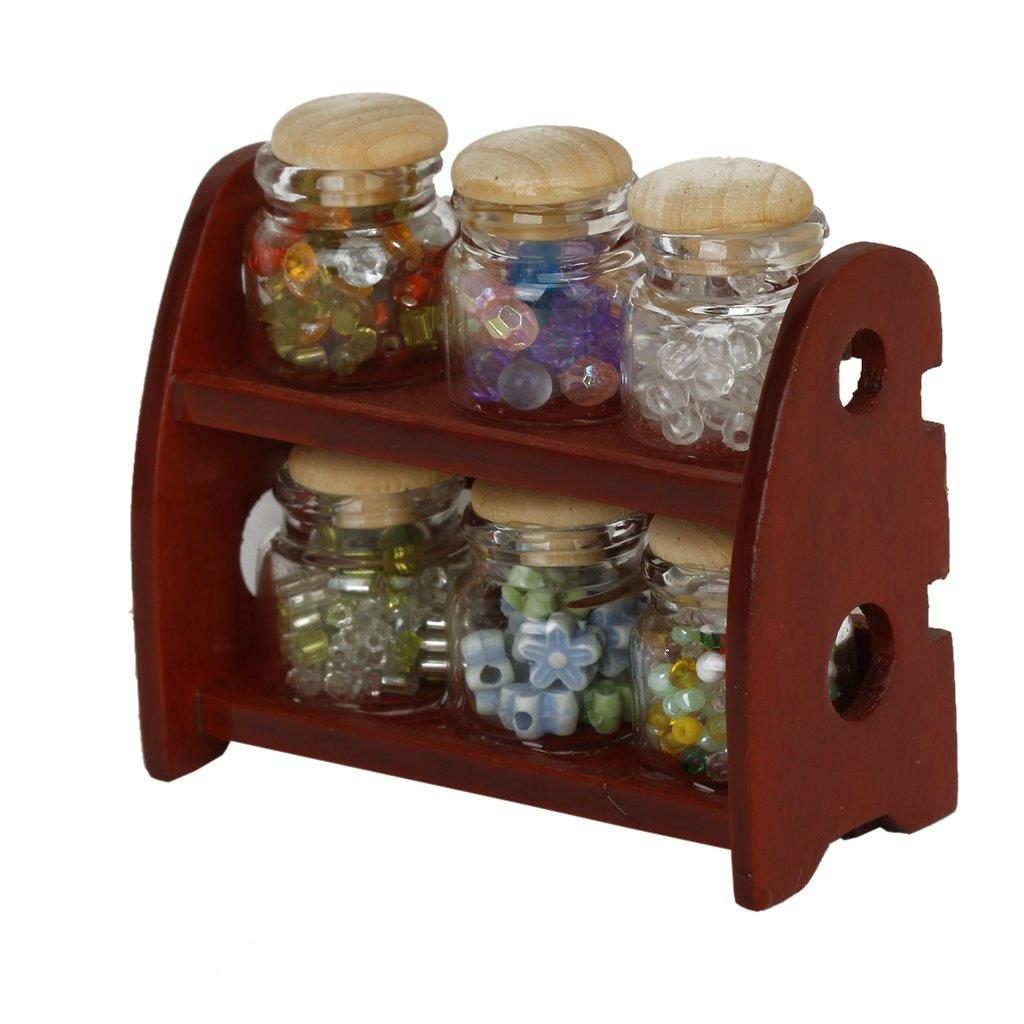 dollhouse kitchen furniture. 1:12 Dollhouse Kitchen Furniture Miniature Glass Candy Bottle With Racks  Dolls House Accessories Decor Large Kits Doll Sets From Babymom, Dollhouse Kitchen Furniture T