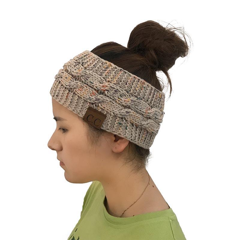 2019 New Hot Knitted Crochet Twist Hat For Womens Winter Ear Warmer