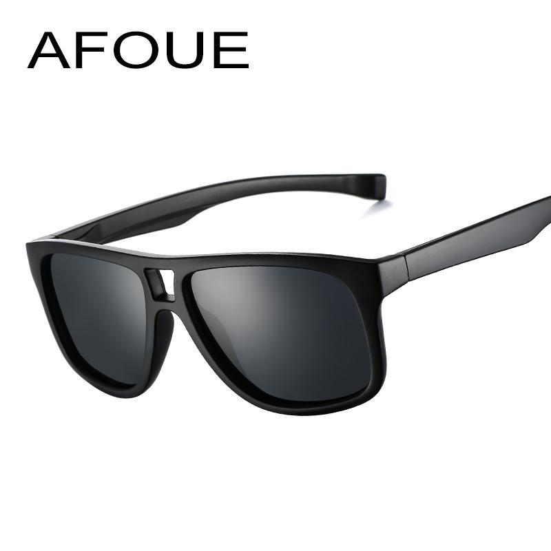 20b2d006e8 AFOUE Brand New Polarized Sunglasses Men Black Cool Travel Sun Glasses High  Quality Fishing Eyewear Oculos Gafas UV400 Designer Sunglasses Sunglasses  For ...