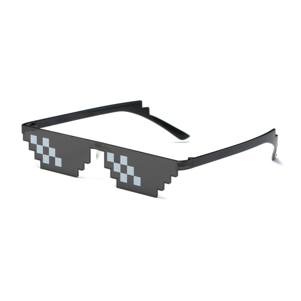 e98c782bf02 ZTDHAWKER 2018 Glasses 8 Bit MLG Pixelated Sunglasses Men Women Brand Thug  Life Party Eyeglasses Mosaic Vintage Eyewear Designer Eyeglasses Womens ...