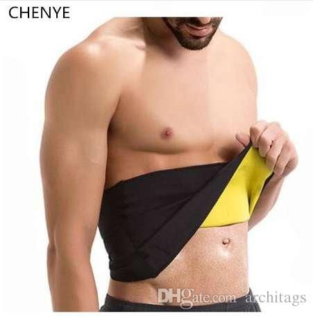 ee2e3cd9cceb2 Men s Compression Body Shaper Belt Neoprene Waist Trainer Shapers ...