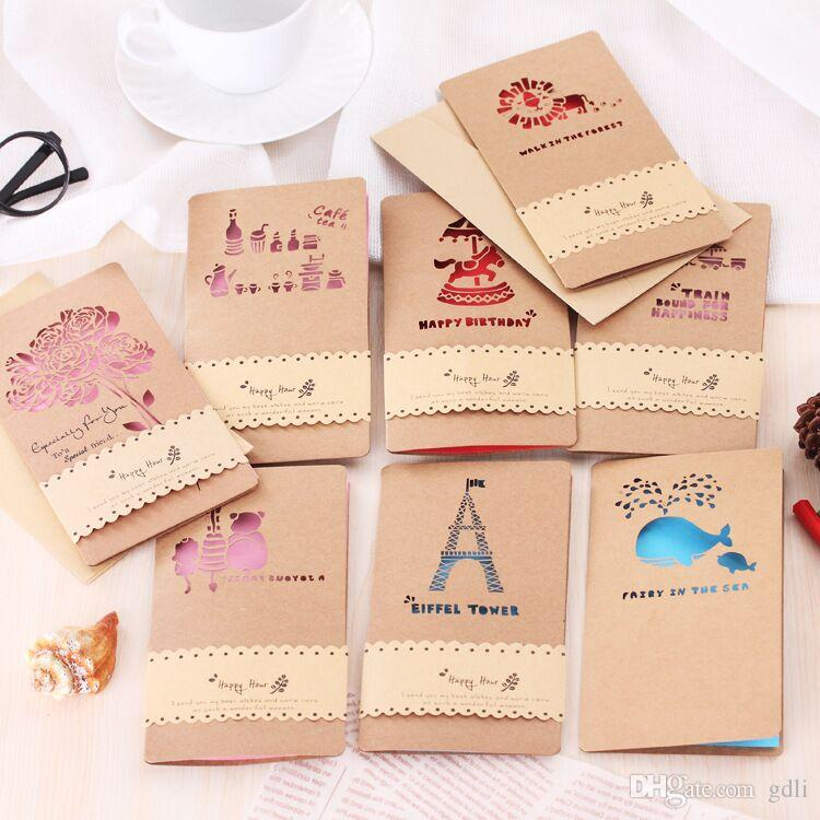 Creative hollow kraft paper card teachers day valentines day creative hollow kraft paper card teachers day valentines day personality greeting card holiday greeting card printable gift cards online buy e gift card m4hsunfo