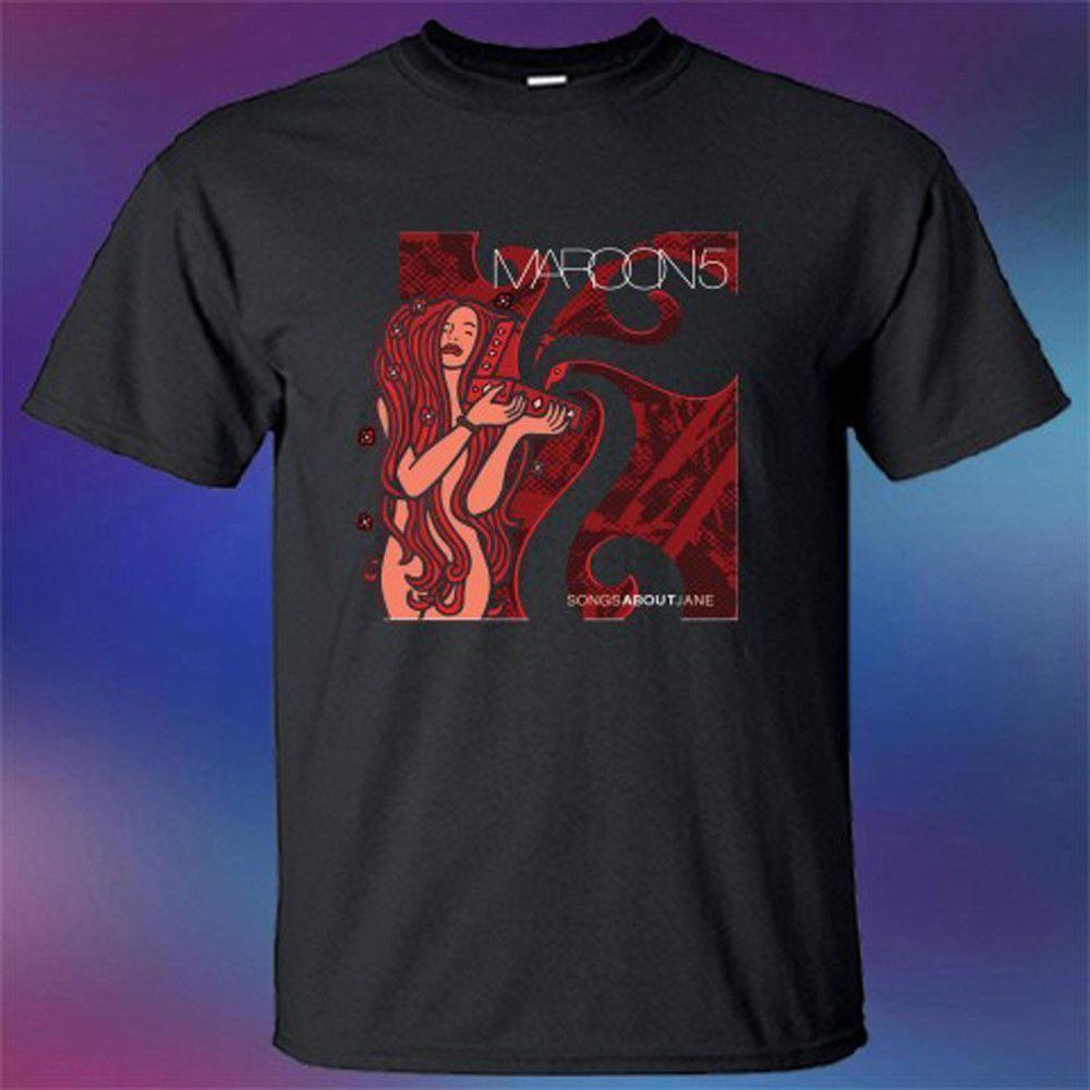 e44f683608e34 Maroon 5 Songs About Jane Album Cover Top Quality 2018 New Brand Men S  Interesting Tee Shirts Shop For T Shirts From Caisemao08