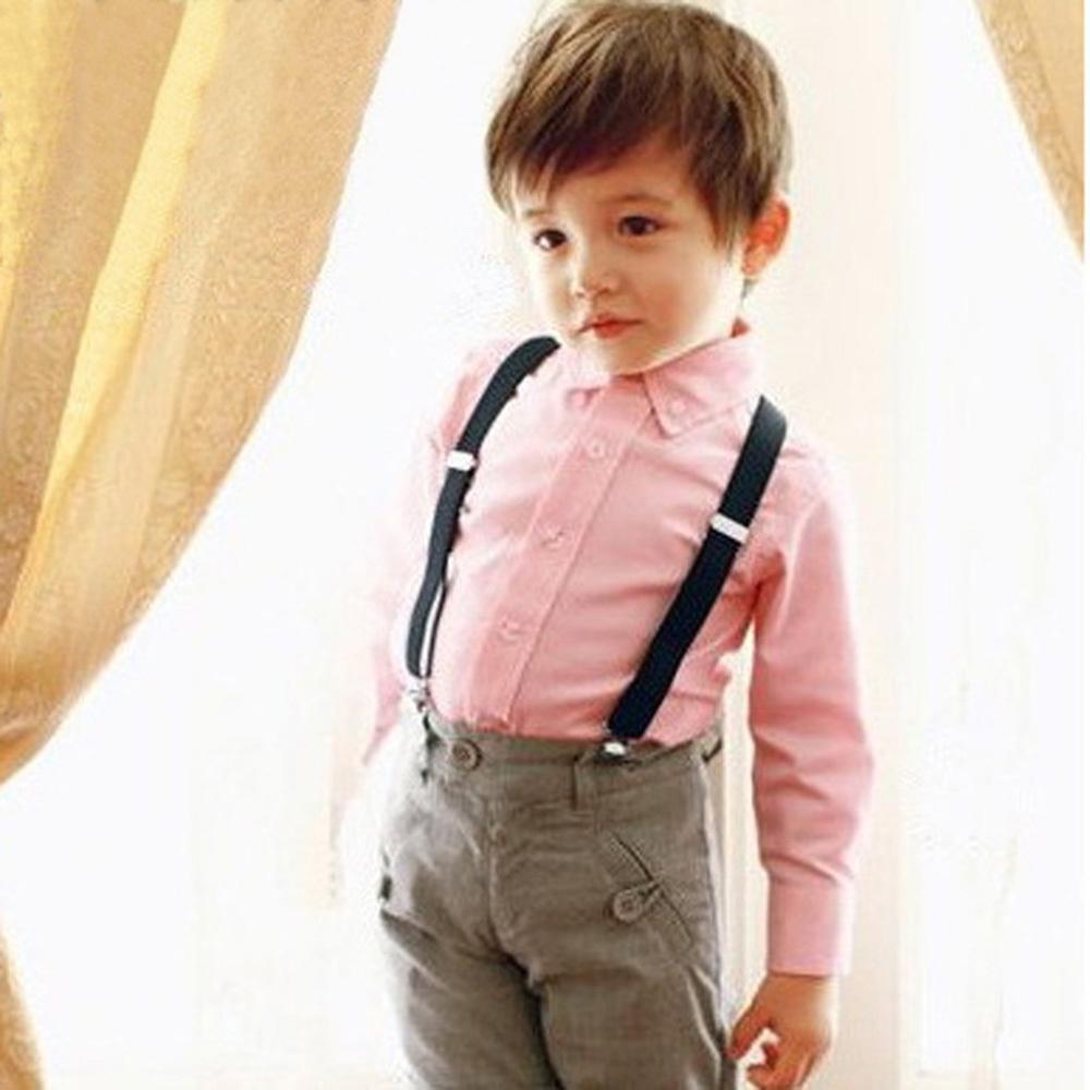 72ef85001 Cute Baby Boys Girl Clip On Suspender Y Back Child Elastic ...