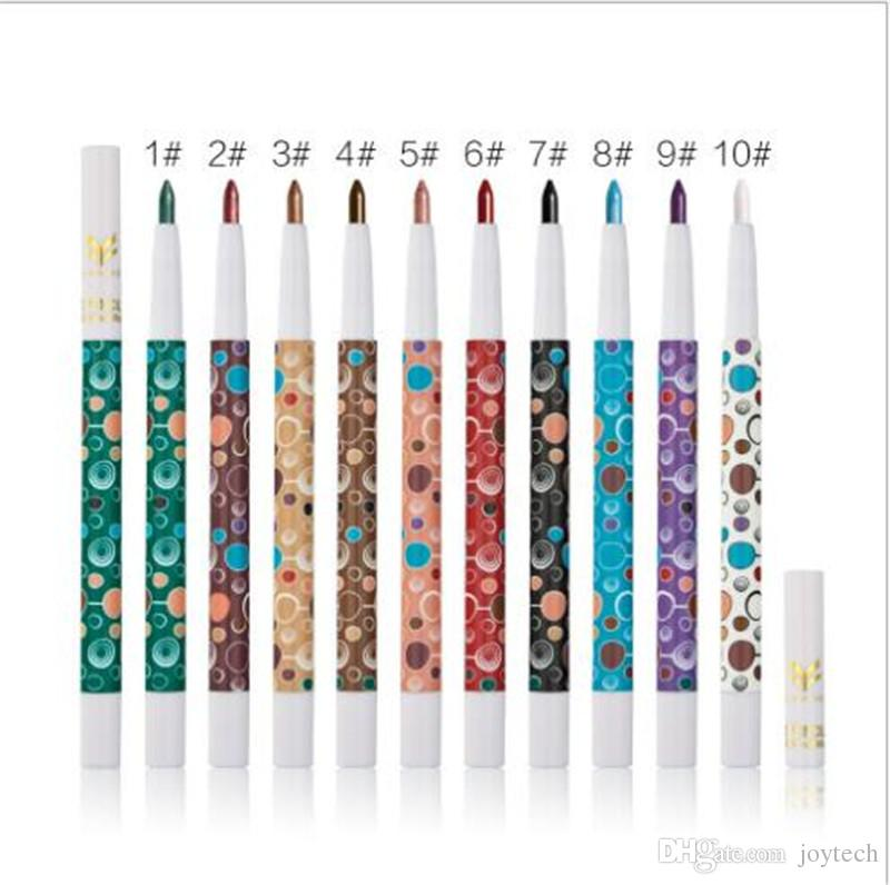 Eye Shadow Stick Long Lasting Shimmer Beauty Makeup Eyeliner Pen Glitter Lip liner Eye Shadow Pencil Cosmetic