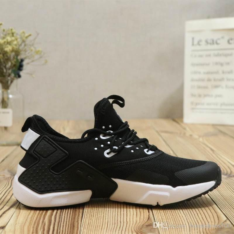 best website b97eb 5a4e0 Brand New Air Huarache 6 Men Running Shoes Cheap Black White Black Sneakers  Mens Huaraches VI Boots Trainers Huraches 6 Sports Shoes Best Shoes For  Running ...