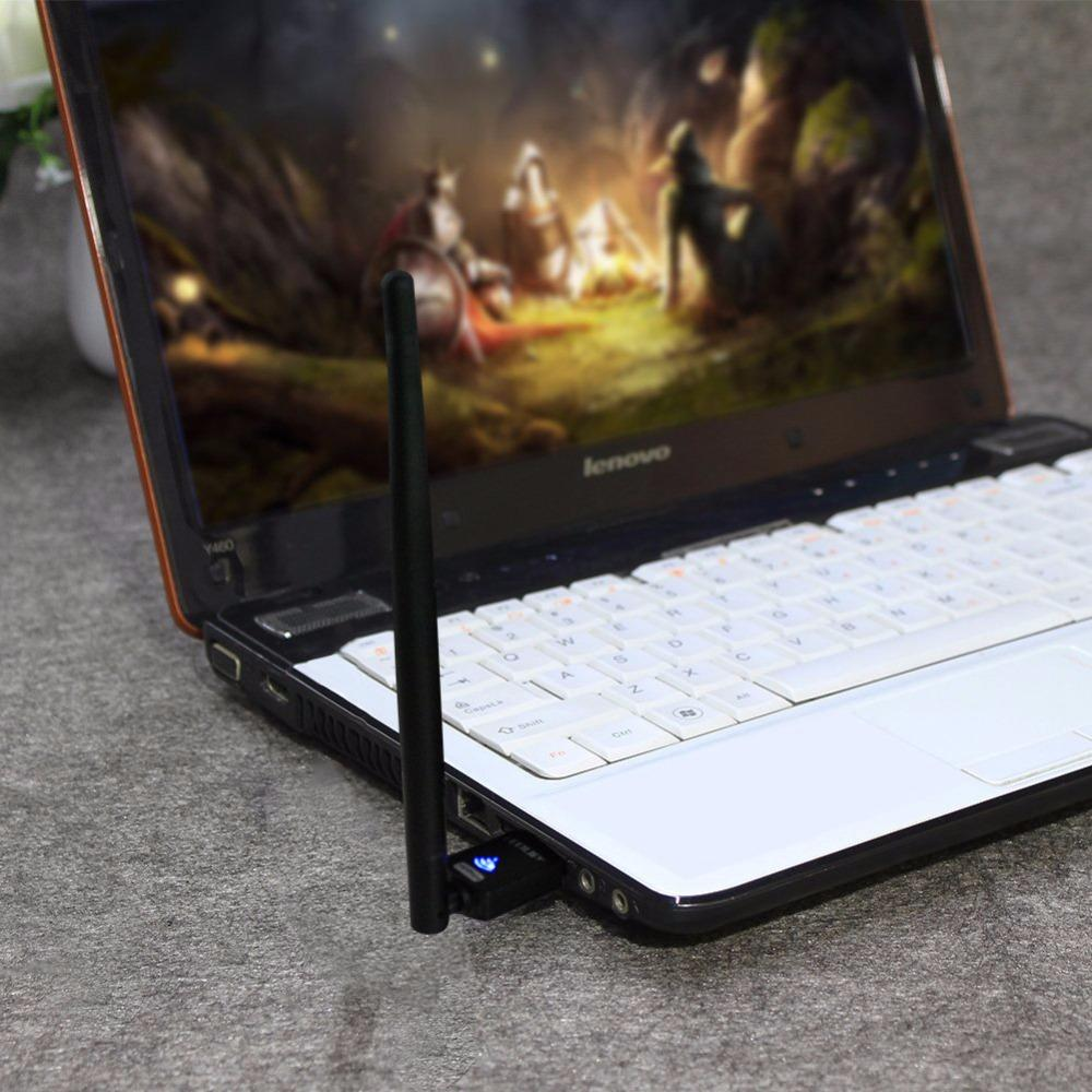 EDUP usb wifi адаптер 150 Мбит / с с высоким коэффициентом усиления 6dbi wifi антенна 802.11 n междугородний usb wi-fi приемник Ethernet сетевая карта