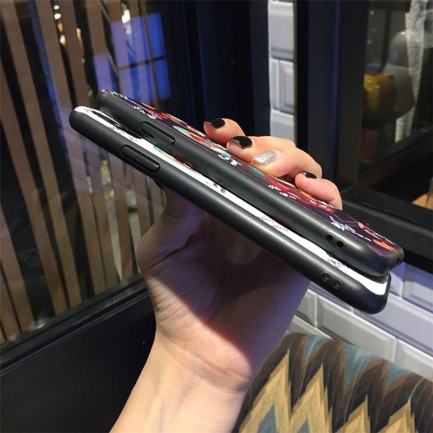 Haute Qualité Stent Relief Peint Furtif Couverture Arrière Dessin Animé Chat Poisson Bones Motif Kickstand Téléphone Case pour iPhone X 6 7 8 Plus